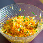 Grated Carrot and Apple Salad a la Remy