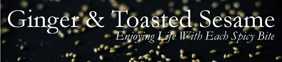 Ginger and Toasted Sesame header image