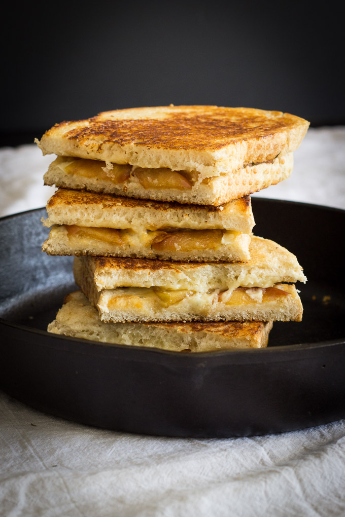 Apple and Cheddar Grilled Cheese