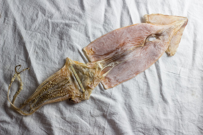 Dried Squid and Gochujang Sauce-2