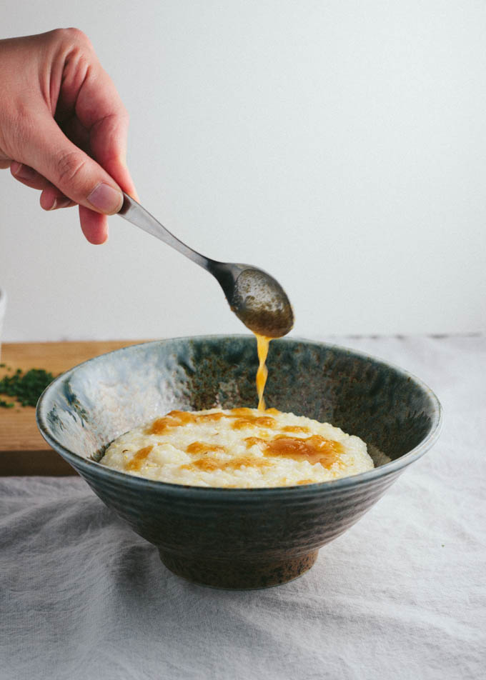 Miso Brown Butter Grits-4