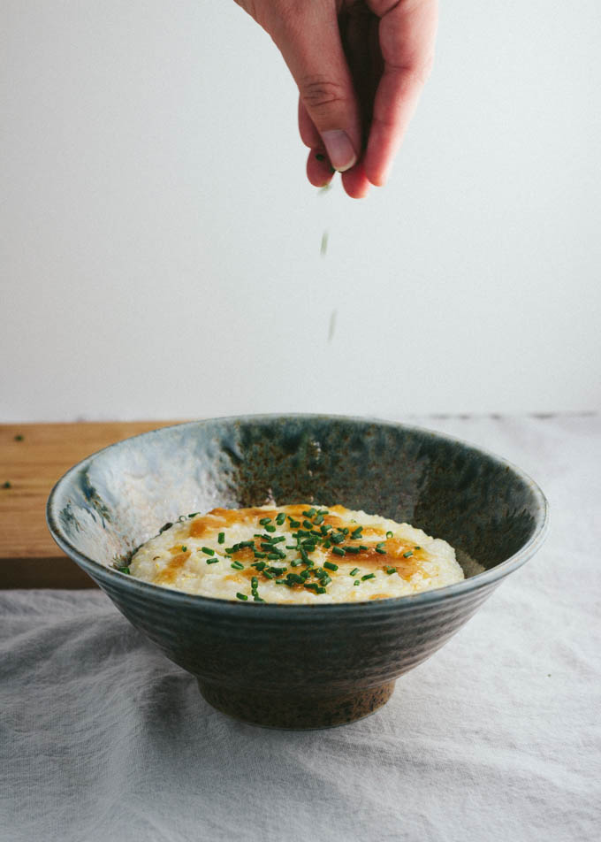 Miso Brown Butter Grits-5