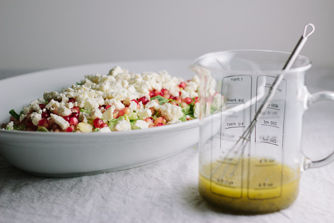 Brussels Sprout and Pomegranate Salad-5