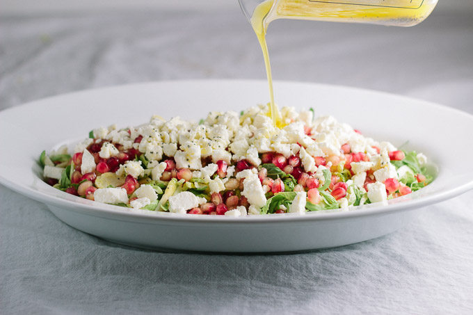 Brussels Sprout and Pomegranate Salad-6