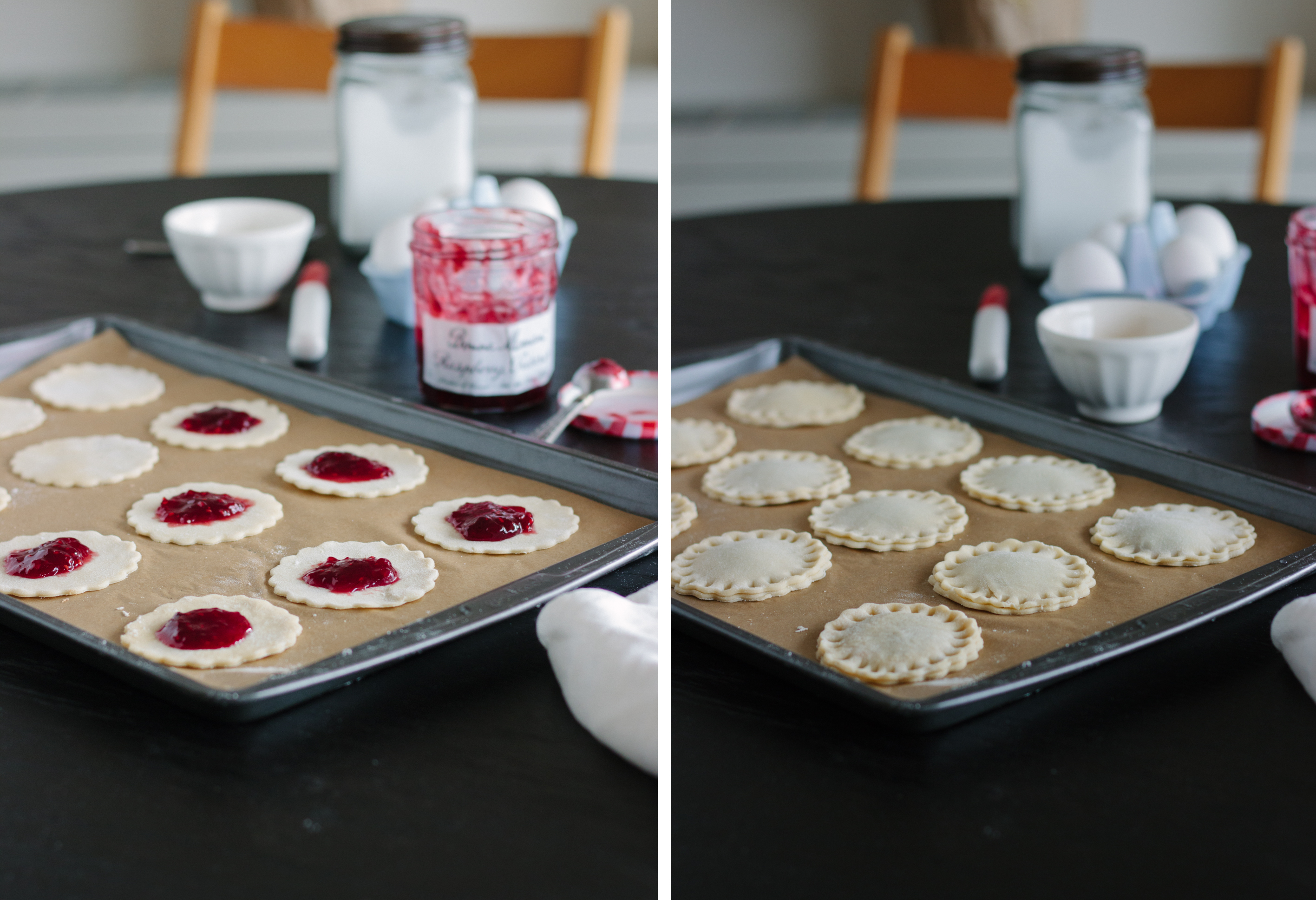Pie Crust Cookies Diptych 1