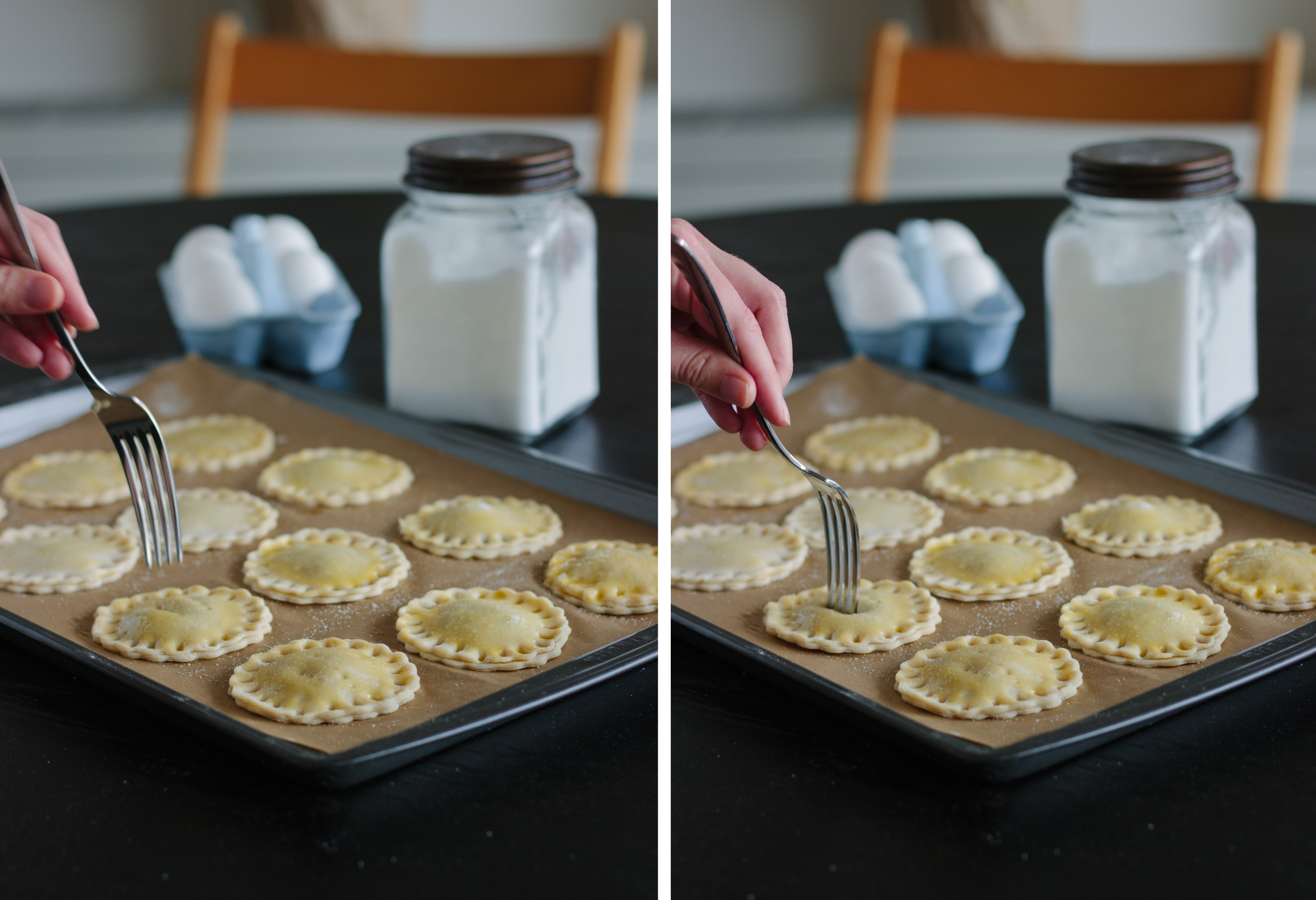 Pie Crust Cookies Diptych 3