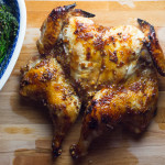 Orange Spatchcocked Chicken
