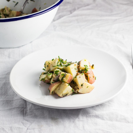 Herb Potato Salad-6
