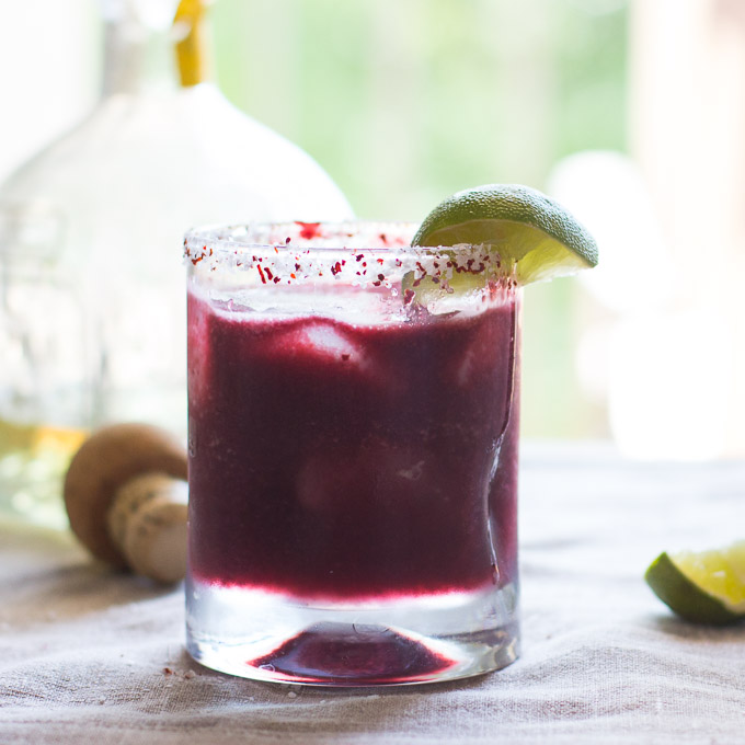 Blackberry Peach Margarita-5