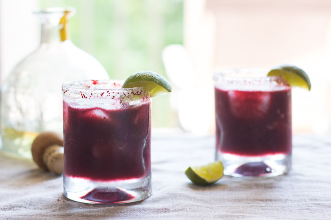 Blackberry Peach Margarita-6