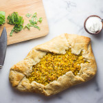 Tomato and Corn Galette