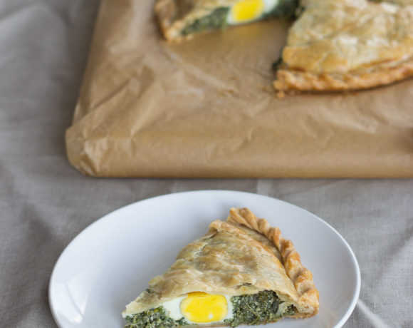 Pascualina (Spinach and Ricotta Pie)