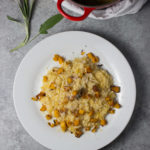 Pumpkin Risotto with Sage Brown Butter